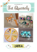 <h5>Fat Quarterly Issue 18</h5><p>My Foxy Bag is shown on the cover.                                                                                                                                                         </p>