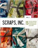 <h5>Scraps, Inc. Vol. 1</h5><p>My Twinkle Quilt pattern can be found in this collaborative book.                                                   </p>