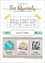 <h5>Fat Quarterly Issue 8</h5><p>My Skating on Frog Pond pillow pattern is in this issue. It uses the Ice Skate paper pieced pattern now found in my Pattern Shop as well.                                                                                                      </p>