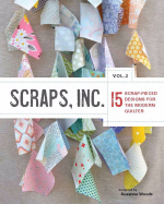 "<h5>Scraps, Inc. Vol. 2</h5><p>My Fletching Quilt pattern is included in this book--see Fletching under the ""Completed Quilts"" tab.                                                                                                                                                         </p>"