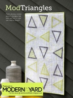 <h5>Modern by the Yard Magazine</h5><p>Free online magazine includes my ModTriangles Runner.</p>