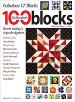 <h5>Quiltmaker's 100 Blocks</h5><p>My Jagged block can be found in this issue.                                                                                                      </p>