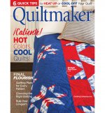 <h5>Quiltmaker July/August 2019</h5><p>Tiny 3 mini quilt is on page 36.                                                   </p>