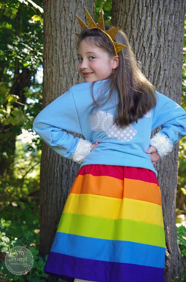 Rainbow Costume 3