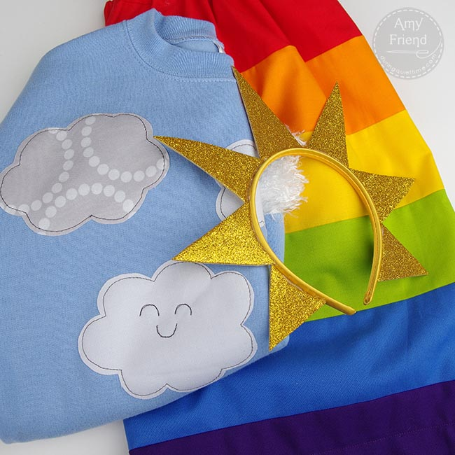 Rainbow Costume 1