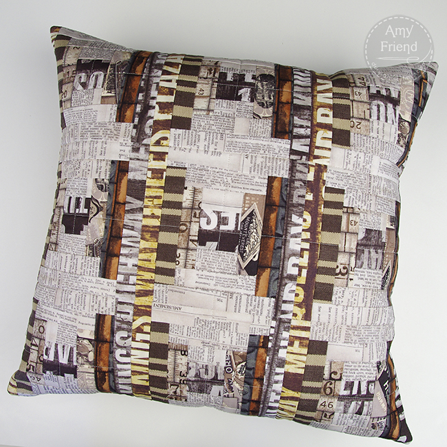 Tim Holtz Pillow