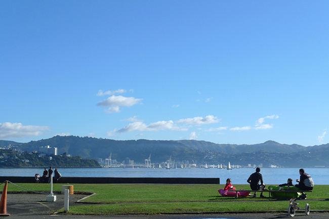 Photo 2 wellington harbour