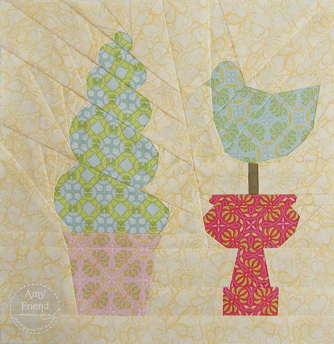 Topiary Block by Amy Friend