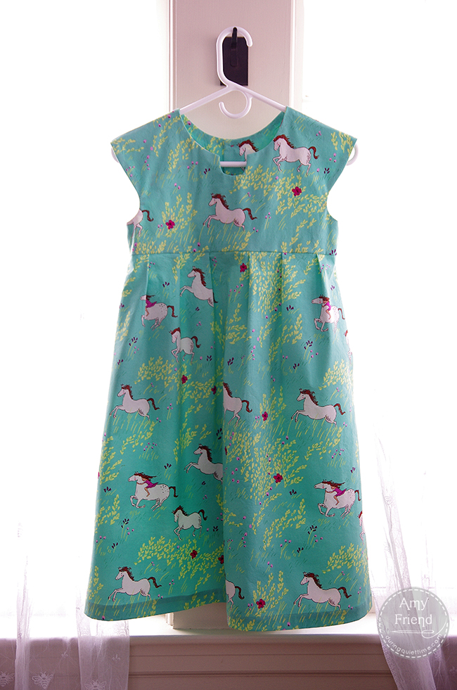 Wee Wander Geranium Dress by Amy Friend