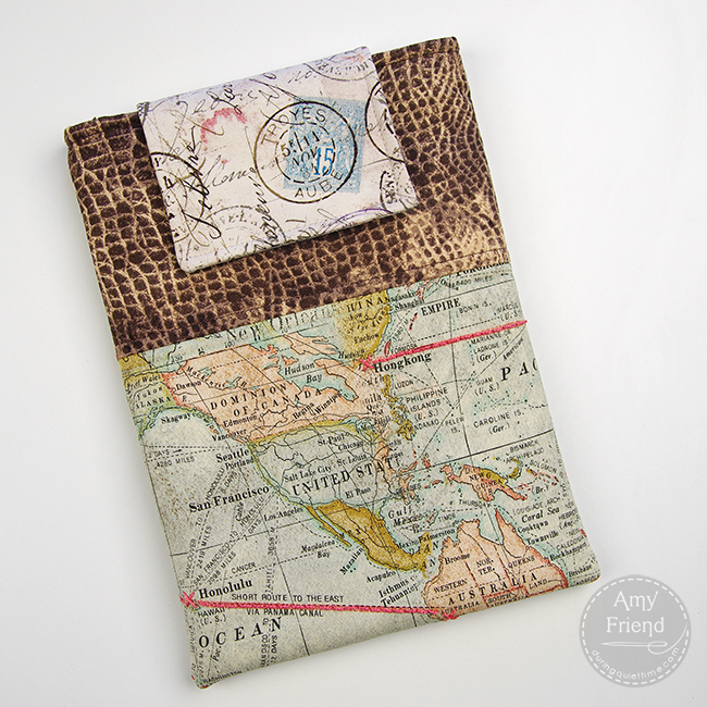 Eclectic Elements Tablet Cover by Amy Friend