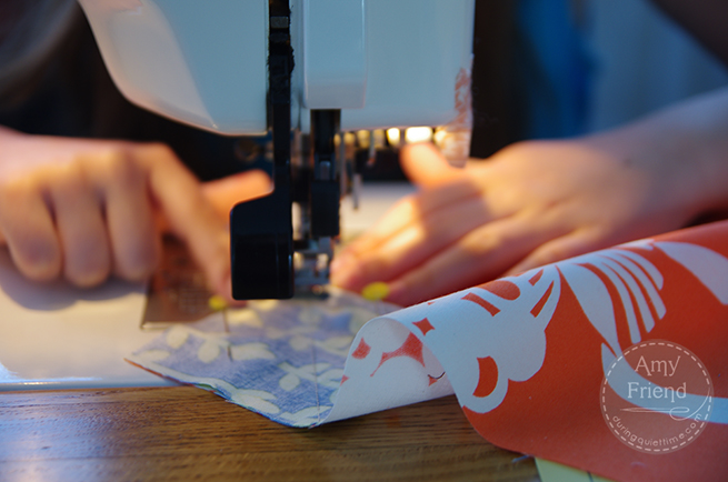 Sewing Pumpkin Block
