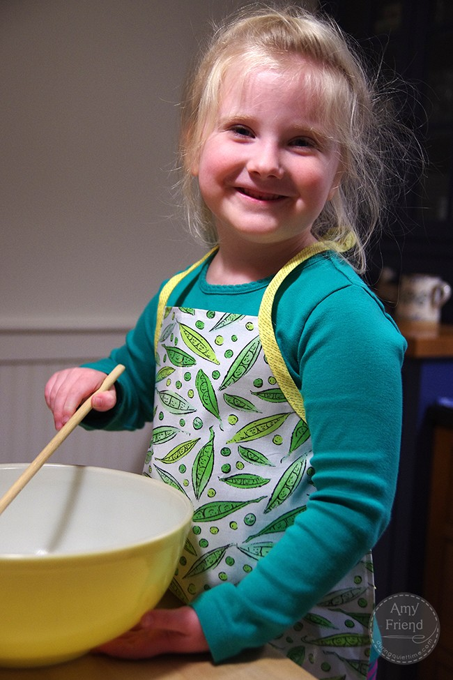 Iron-On Vinyl Apron for Kids by Amy Friend
