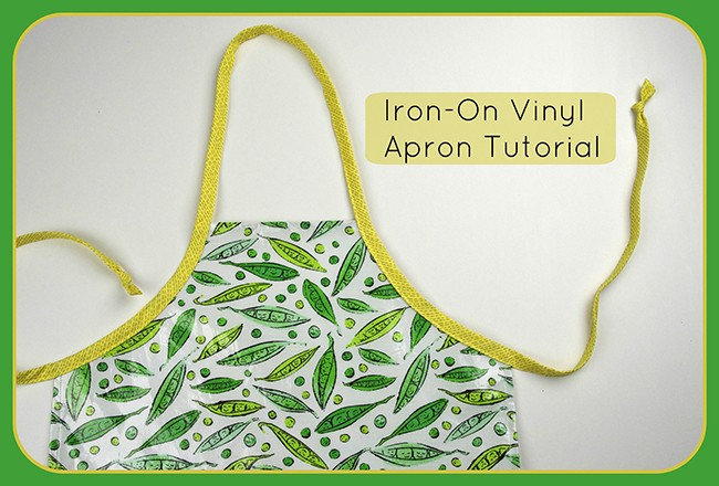 Iron-On Apron Tutorial by Amy Friend