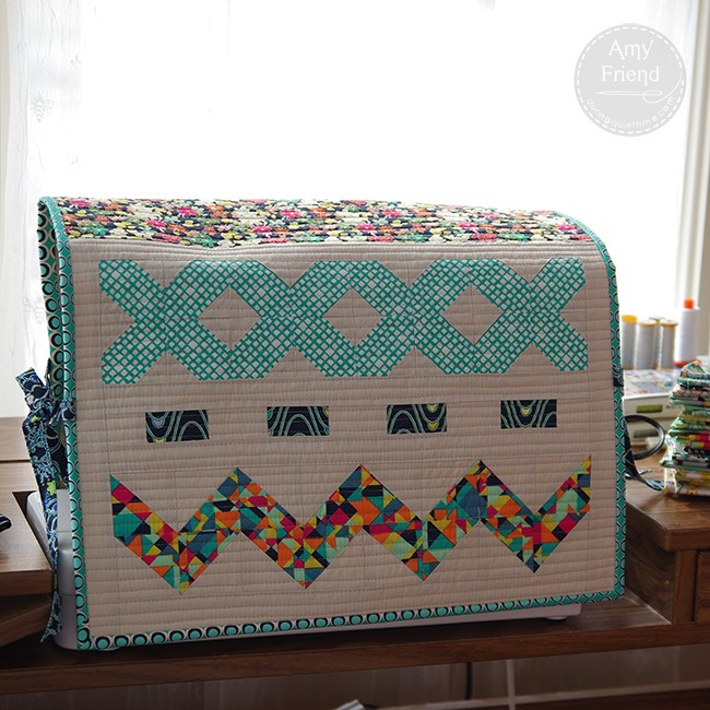 Patchwork Sewing Machine Cover by Amy Friend