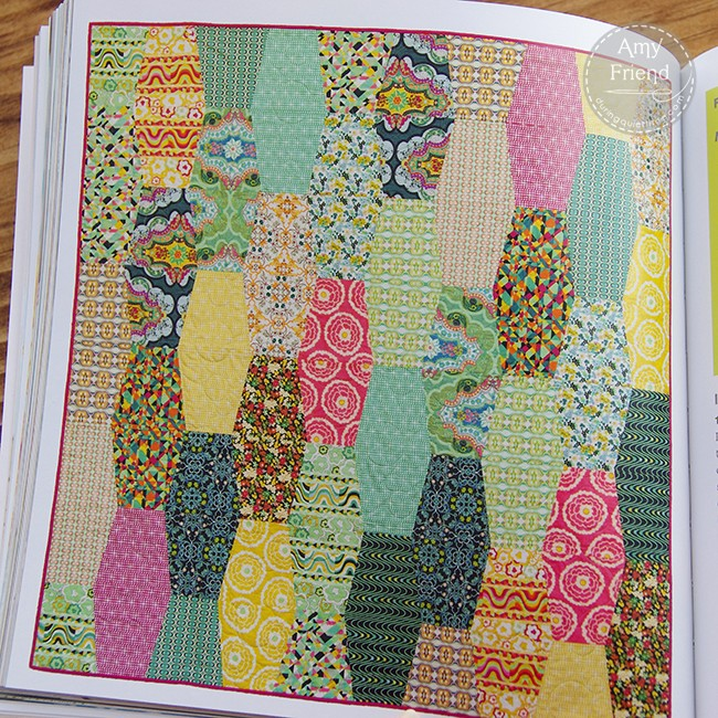 Groovy Vibes Quilt by Amy Friend