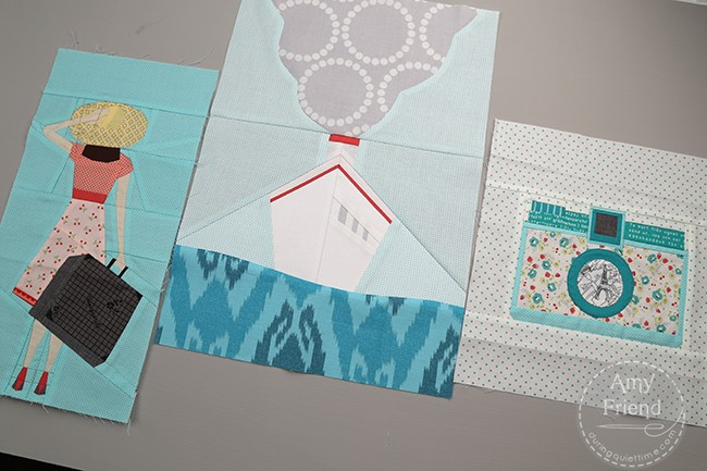 Charise's Traveling Quilt Blocks