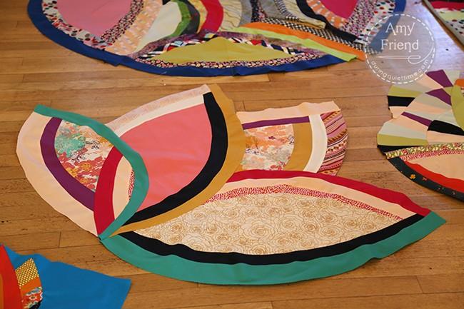 Bias Strip Curves score by Sherri Lynn Wood, piece by Amy Friend