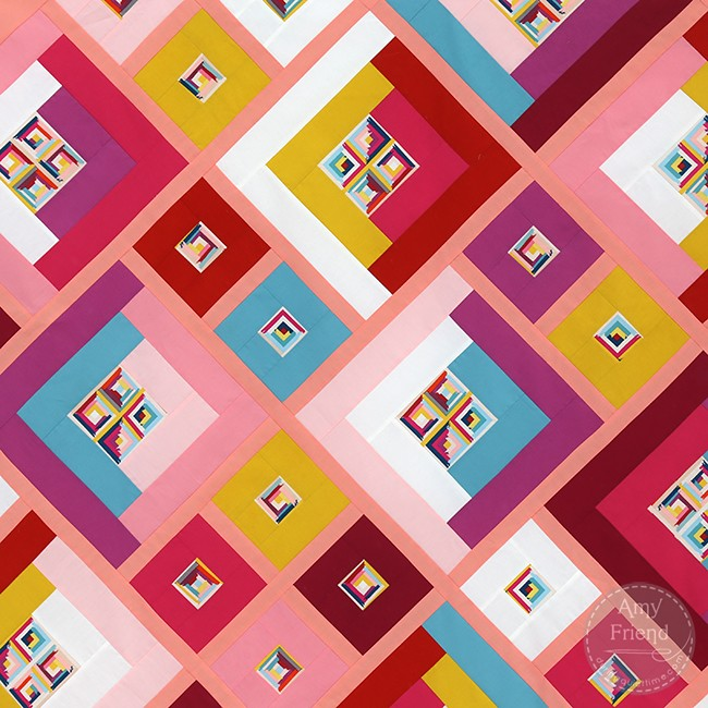 Possibilities Quilt Top Detail, by Amy Friend