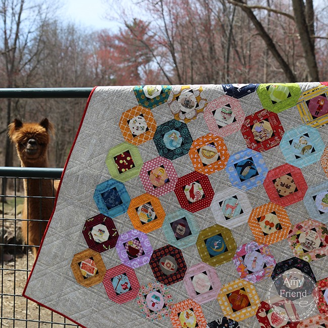 Tell Me A Story Quilt by Amy Friend