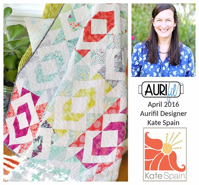 Aurifil 2016 Design Team April Kate Spain collage
