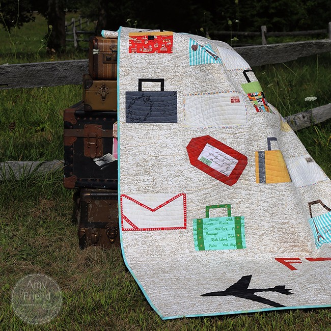 Transatlantic Quilt by Amy Friend from Intentional Piecing