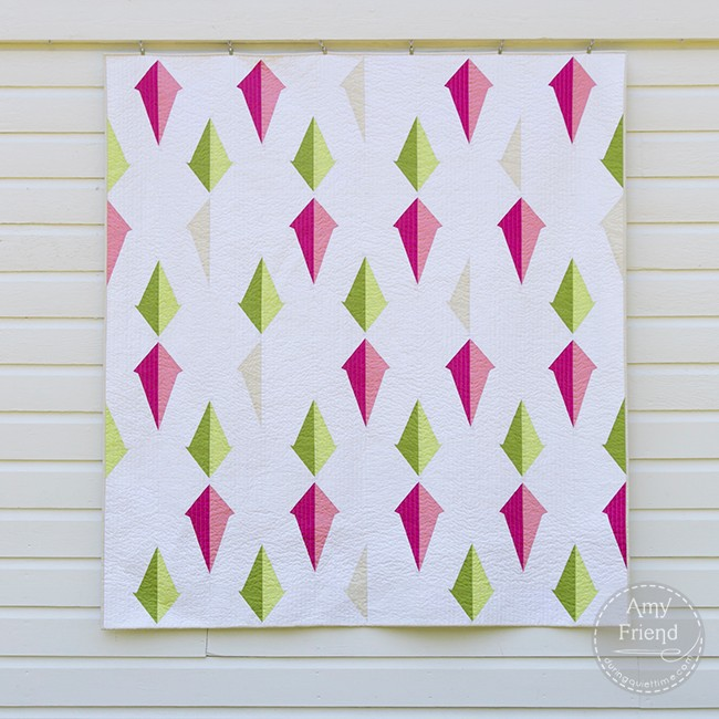 Plumb Line Quilt by Amy Friend
