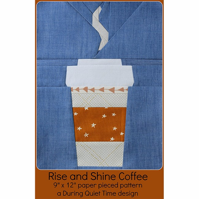 Rise and Shine Coffee Pattern by Amy Friend