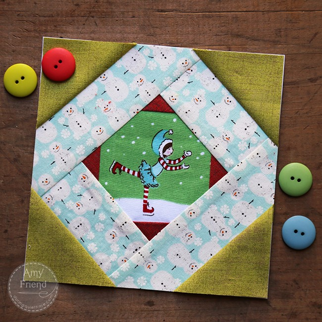 Tell Me A Story holiday block by Amy Friend