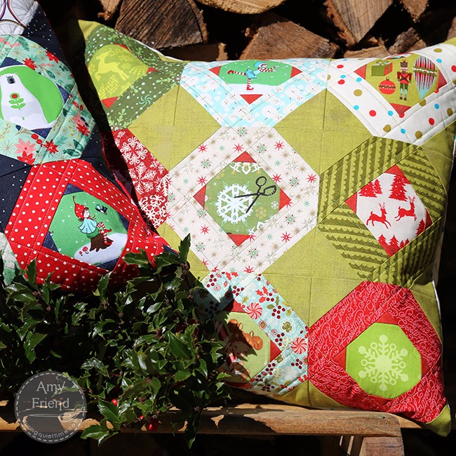 Tell Me A Story Holiday Pillow by Amy Friend