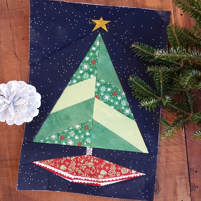 Paper Pieced Christmas Tree Pattern: Christmas Tree Pattern