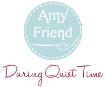 Amy Friend During Quiet Time