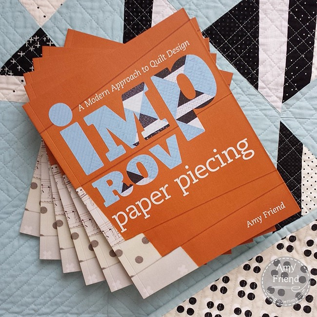 Improv Paper Piecing by Amy Friend